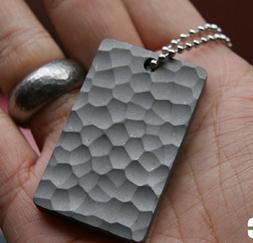 titanium edc tip head dent vein bunch