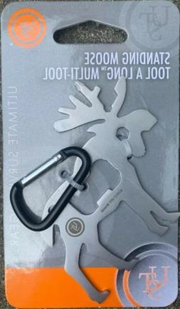 Tool A Long Moose UST Pocket-Sized Multi-Tool Wrench, Screwd