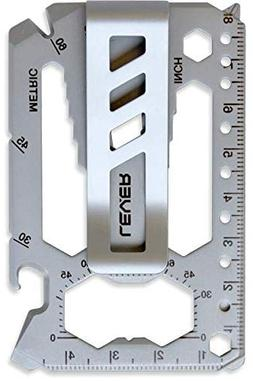 Lever Gear Toolcard Pro with Money Clip - 40 in 1 Credit Car
