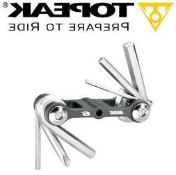 TOPEAK TT2506 MINI 6 Multi Function Bike Tool Hardened Micro