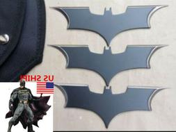 US! 3 PCS Batman Bat Metal Darts Swiss Suit Edged Outdoor Tr