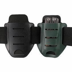 US Single Pocket Multitools Holder Leather Tool Sheath Organ