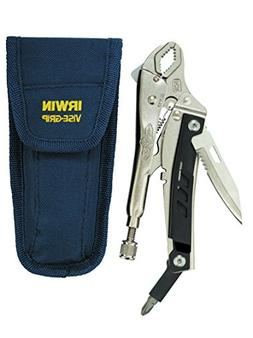 IRWIN VISE-GRIP Locking Multi-Pliers with Pouch, Curved Jaw,