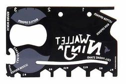 ETCBUYS Wallet Ninja Skateboard Multi-tool - Card Size Easil