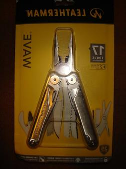Leatherman Wave Multi-tool- Stainless Steel- Brand New in Pa