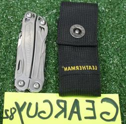 Leatherman Wingman Multi-Tool, Stainless w/ Nylon Sheath B24