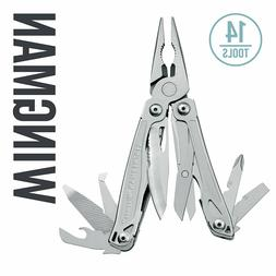 Leatherman Wingman Multitool, Stainless Steel with Nylon She