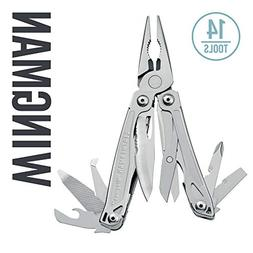 Leatherman - Wingman Multitool, Stainless Steel with Nylon S